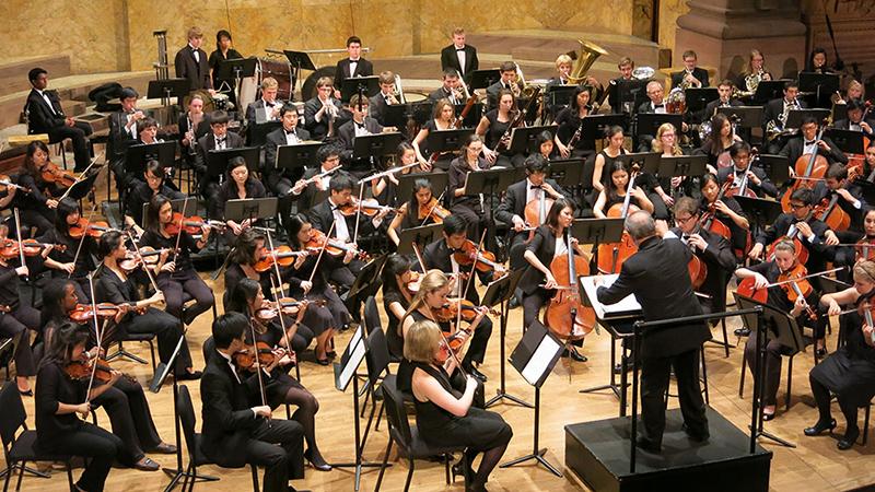 PU Orchestra in Richardson Auditorium